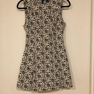 Classy Short Pleated Zara Dress